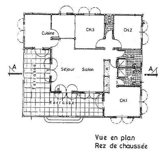 Villa cr ole le marin martinique for Plan maison creole traditionnelle